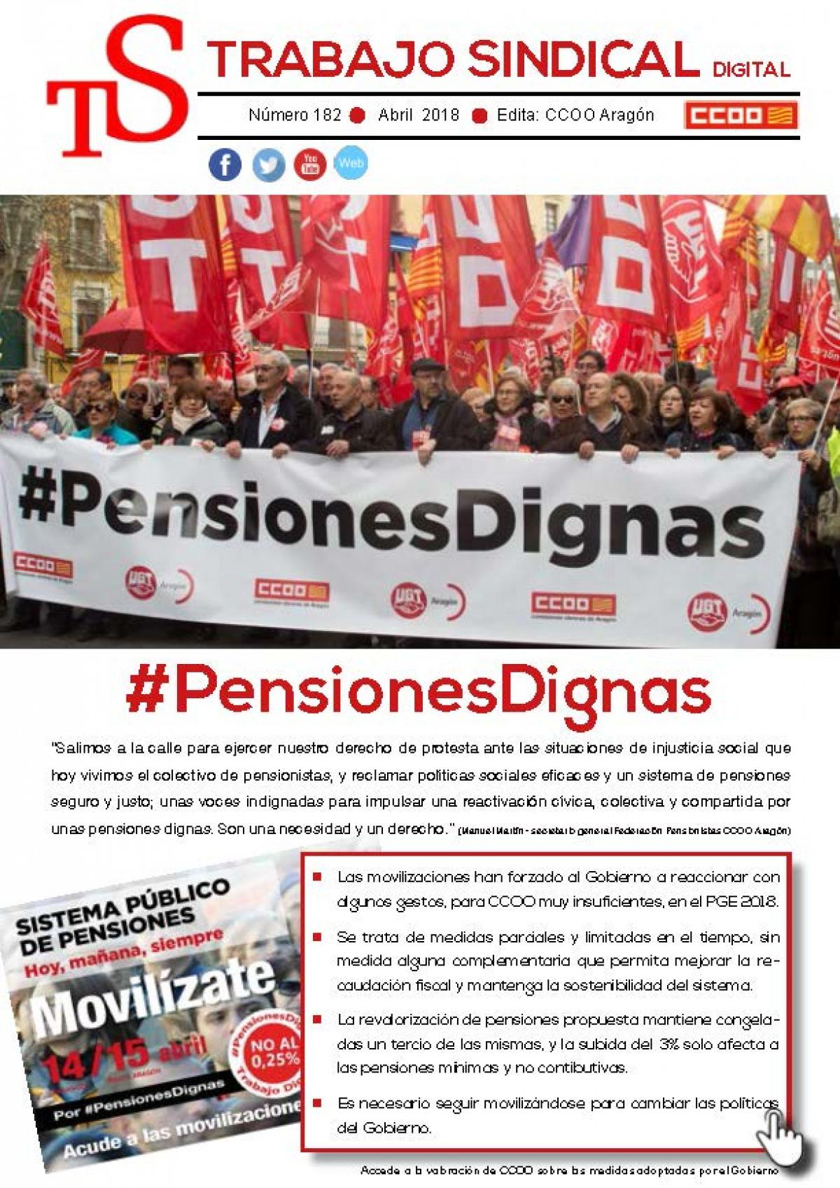 Trabajo Sindical - #PensionesDignas